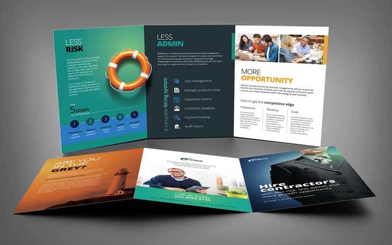 Brochure Design agency Bangalore
