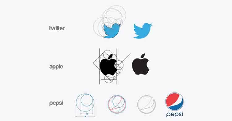 golden ratio Logo designs