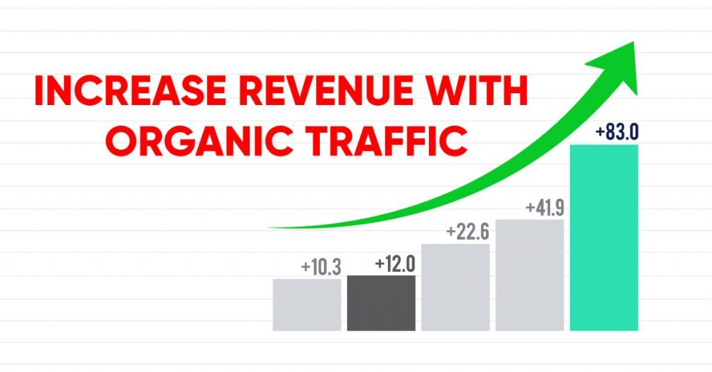 increase revenue with organic traffic