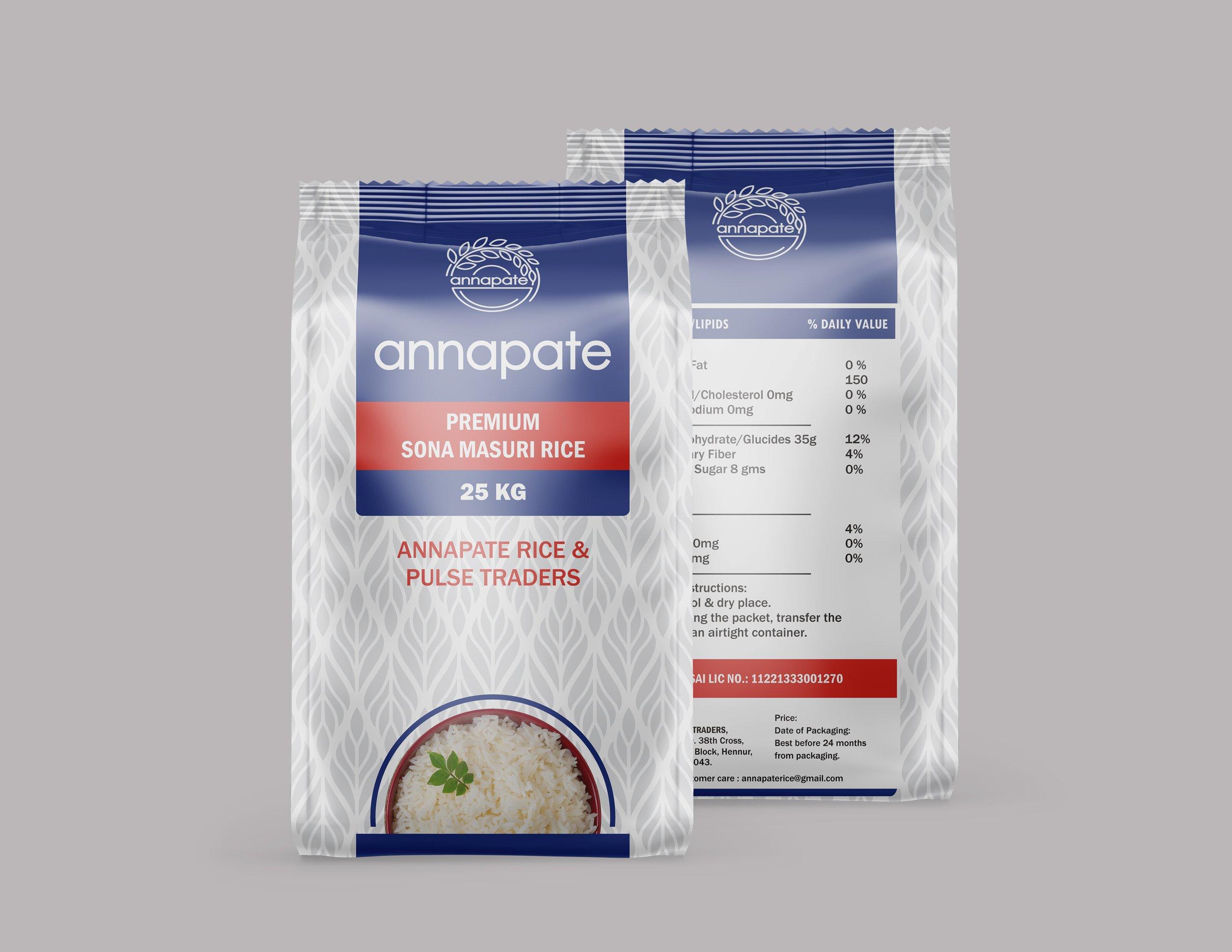 Annapate Rice Bag