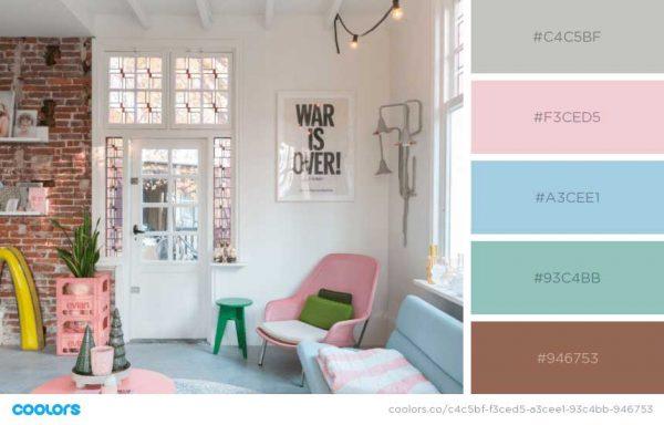Pastels For Interior Design