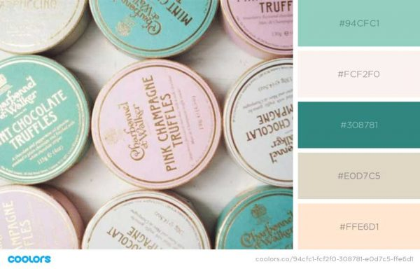 Pastels for Chocolates