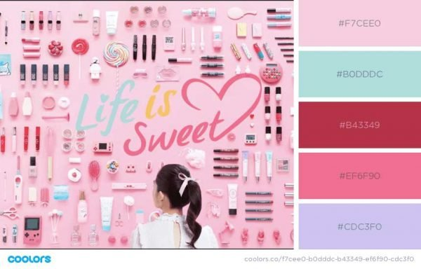 Pastels for Cosmetics