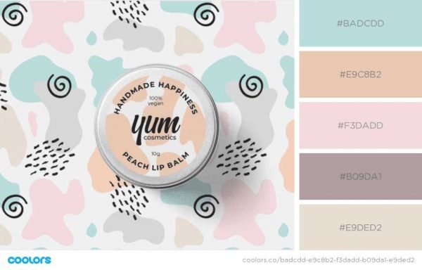 Pastels for Skin Care
